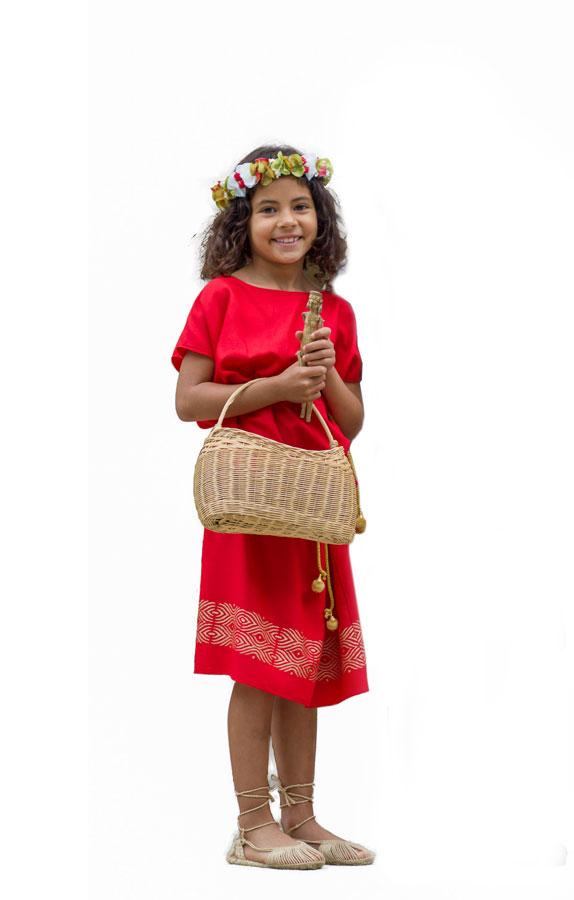 disfraz de romana niña Arde Lucus