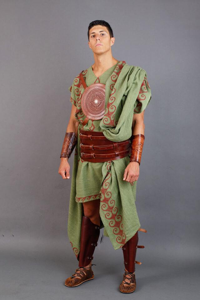 guerrero galaico con pectoral