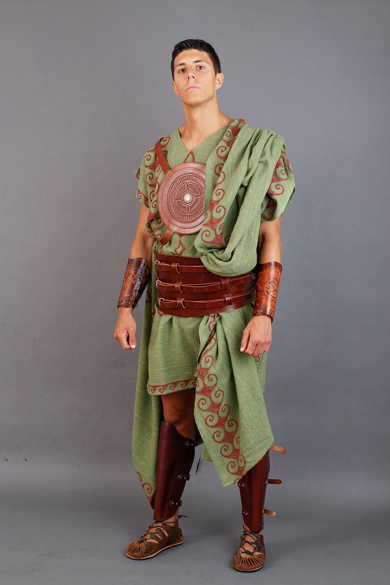 vestimenta guerrero galaico